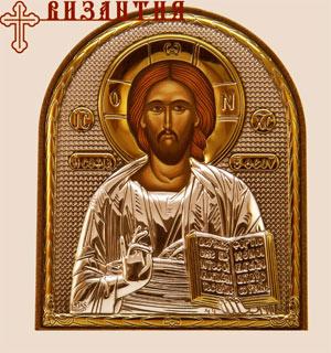 греческая икона Спасителя