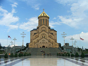 Какие иконы дарят грузинам: история грузинской православной церкви