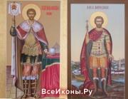 Мерные и именные иконы, даруемые на Крещение младенца