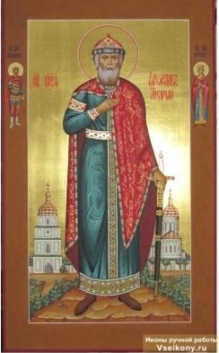 Икона Ярослава Мудрого