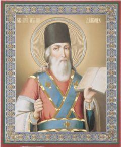 Рукописная икона Ахила Дьякон
