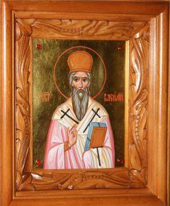 Рукописная икона Василий Острожский купить с доставкой