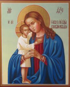 Рукописная икона Взыскание погибших
