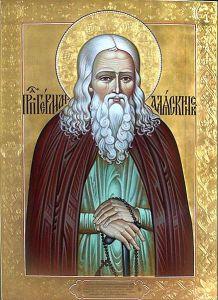 Рукописная икона Святой Герман Аляскинский