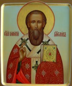 Рукописная икона Григорий Богослов
