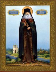 Рукописная икона Гавриил Мелекесский купить с доставкой