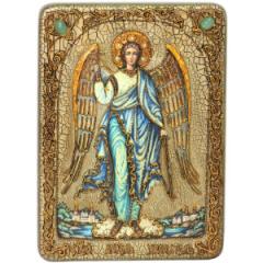 Икона ручной работы Ангел Хранитель Ростовой купить с доставкой