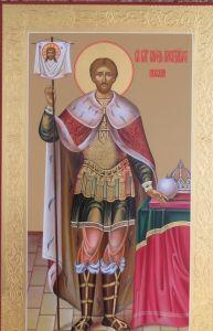 Мерная икона Александр Невский купить с доставкой
