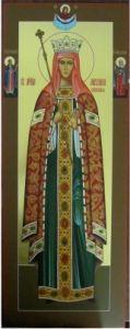 Мерная икона Ангелина Сербская купить с доставкой