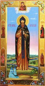 Мерная икона Антоний Печерский купить с доставкой