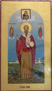 Мерная икона Василий Великий купить с доставкой