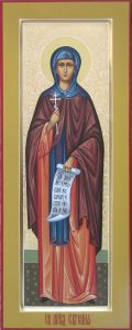 Мерная икона Евгения Преподобная купить с доставкой