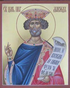 Рукописная икона Давид Царь купить с доставкой