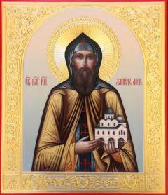 Рукописная икона Даниил Московский купить с доставкой