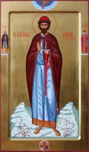 Рукописная икона Дмитрий (Димитрий) Донской