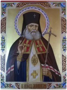 Рукописная икона Лука Крымский