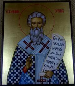 Рукописная икона Корнилий (Корнелий) Сотник