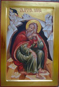 Рукописная икона Илия (Илья) Пророк купить с доставкой