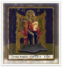 Рукописная икона Кипяжская купить с доставкой