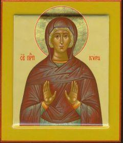 Рукописная икона Кира Берийская Македонская купить с доставкой