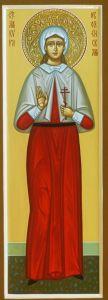 Рукописная икона Кипра Оболенская купить с доставкой