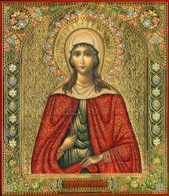 Рукописная икона Лариса Готфская мученица