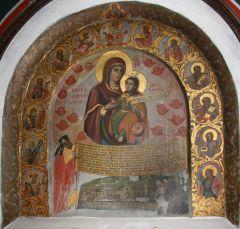 Рукописная икона Македонитисса купить с доставкой