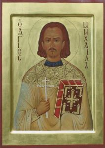 Рукописная икона Михаил Гусев