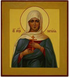 Рукописная икона Наталия Никомидийская
