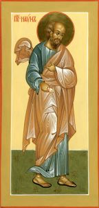 Рукописная икона Наум Пророк купить с доставкой