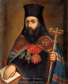 Рукописная икона Никифор Архиепископ купить с доставкой