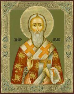 Рукописная икона Александр Адрианопольский