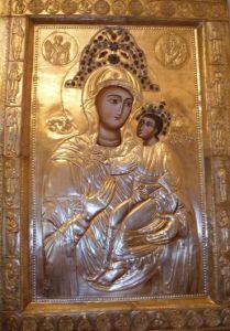 Рукописная икона Палиастомская Кутаисская купить с доставкой