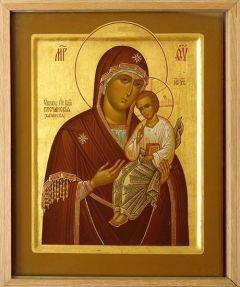 Рукописная икона Песчанская