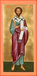 Рукописная икона Родион Апостол
