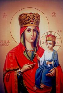 Рукописная икона Рудненская купить с доставкой