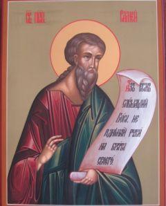 Рукописная икона Самей Пророк купить с доставкой