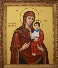 Рукописная икона Теребовльская Теребовлянская купить с доставкой