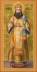 Рукописная икона Тихон Задонский купить с доставкой