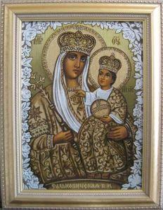 Рукописная икона Фальковичская купить с доставкой