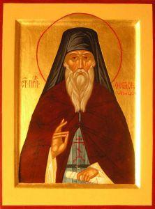 Рукописная икона Феодор Освященный купить с доставкой