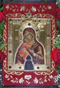 Рукописная икона Царевококшайская Мироносицкая купить с доставкой