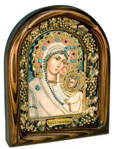Икона из бисера Утоли мои печали купить с доставкой