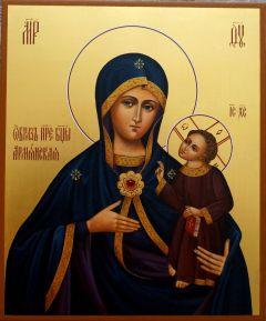 Рукописная Армянская икона Божией Матери купить с доставкой