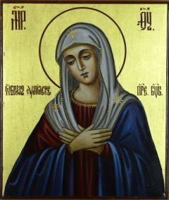Рукописная икона Умиление Богородицы купить с доставкой