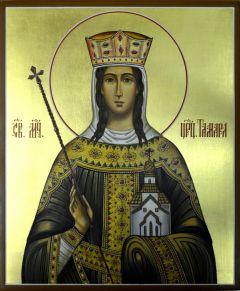 Рукописная икона Тамара мученица купить с доставкой