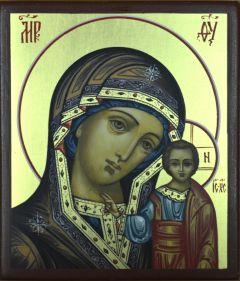 Рукописная Казанская икона купить с доставкой