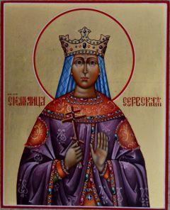 Рукописная икона Милица Сербская
