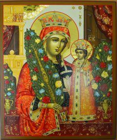 Рукописная икона Неувядаемый Цвет 8 купить с доставкой