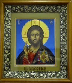 Рукописная икона Господь Вседержитель купить с доставкой